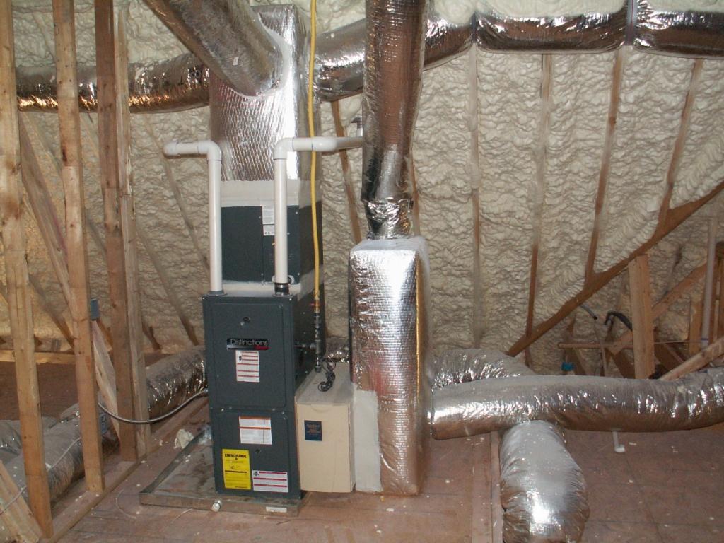 The benefits of insulation to your hvac system russo bros co - Home hvac design ...